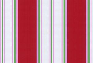 Papel de Parede Listrado Colorido, Vermelho, Rosa, verde e branco