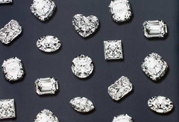 Papel de Parede Diamantes - Joiás