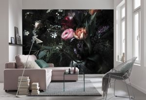 Ambientes Decorados Painel Fotográfico Buquê de Flores