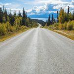 Painel Fotográfico com foto de estrada