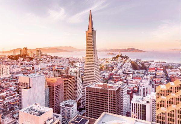 Painel Fotográfico com Imagem de São Francisco - California