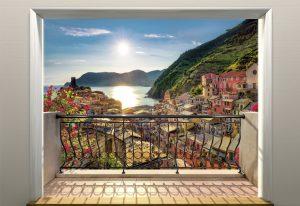 Painel Fotográfico com Imagem de Vernazza
