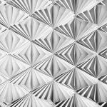 Painel Fotográfico Geométrico Branco