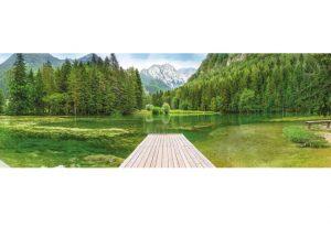 Painel Fotográfico com foto de Lago Verde