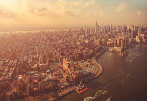 Painel Fotográfico com foto de Manhattan