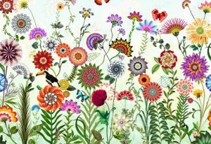 Painel Fotográfico com imagem de Primavera