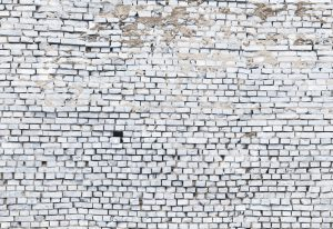 Painel fotográfico de Tijolinho Branco