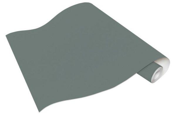 Rolo de Papel de Parede Liso Cinza Esverdeado Ref. 6381-18
