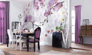 Ambiente Decorado Flores Allure Ref. XXL4-032