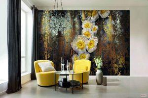 Ambiente Decorado Flores Amarelas Ref. 8-963