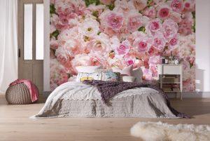 Ambiente Decorado Flores Pastel Ref. 8-937