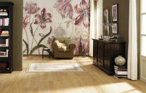 Ambiente Decorado Flores com Borboletas Ref. 8-510