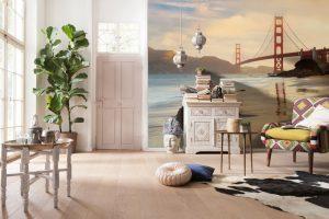 Ambiente Decorado Golden Gate Ref. XXL4-054