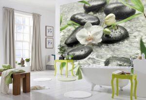 Ambiente Decorado Orquídeas Brancas Ref. 8-319