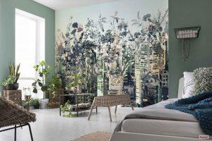 Ambiente Decorado Prédios com Plantas Decorativas Ref. 8-979