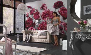 Ambiente Decorado Flores Temptation Ref. XXL4-002