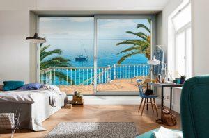 Ambiente Decorado Vista Mar Tranquilo Ref. XXL4-050