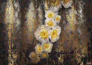 Painel Fotográfico Flores Amarelas Ref. 8-963
