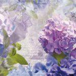 Painel Fotográfico Otaska Hortênsia Azul Ref. 8-705