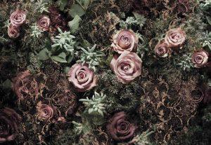 Painel Fotográfico Rosas Velvet Ref. 8-980