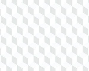 Papel de Parede Geométrico Cubo Cinza
