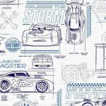 Papel de Parede Disney Carros Ralâmpago McQueen