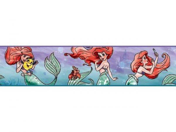 Papel de Parede Pequena Sereia Ariel