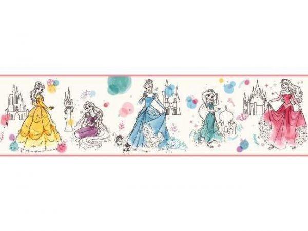 Faixa de Papel de parede das princesas