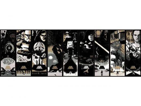 Faixa de Papel de parede Star Wars