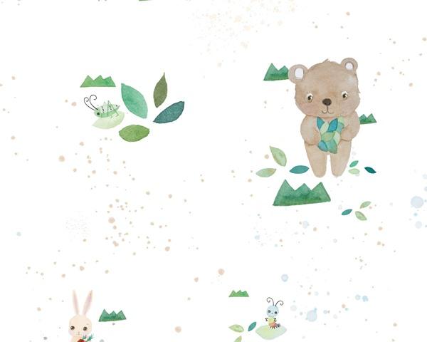 Papel de parede Infantil coala