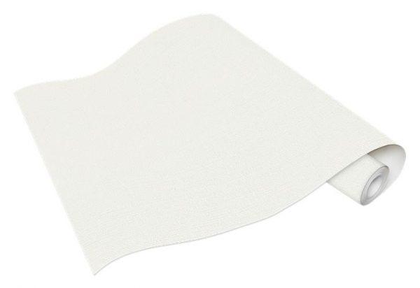 Rolo de Papel de Parede Linho Branco Ref. 5424-01