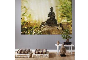 Ambiente decorado com Painel Fotográfico Buddha - 1-610
