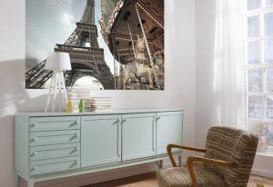 Ambiente Decorado Painel Fotográfico Torre Eiffel - 1-602