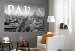 Ambiente decorado com Painel Fotográfico Paris - 1-613