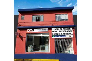 Loja de Papel de Parede K&G - Sede propria em São Paulo