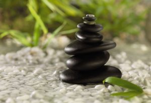 Painel Fotográfico Pedras empilhadas - Natureza - 1-612