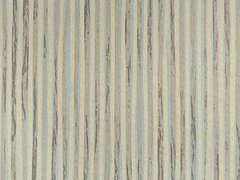 Palha Natural Listras Verde e Azul - V6866