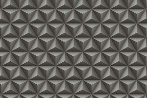 Papel de parede Geométrico Preto - 3123