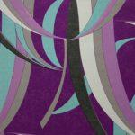 Papel de Parede Abstrato Roxo