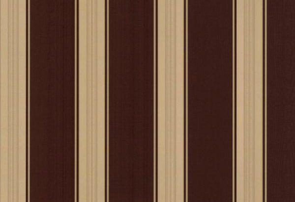Papel de Parede Listrado marrom e dourado