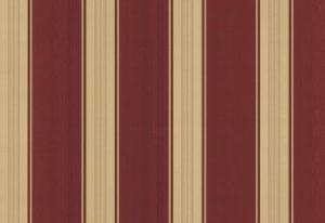 Papel de Parede Listrado Vinho e Dourado - 40004-60