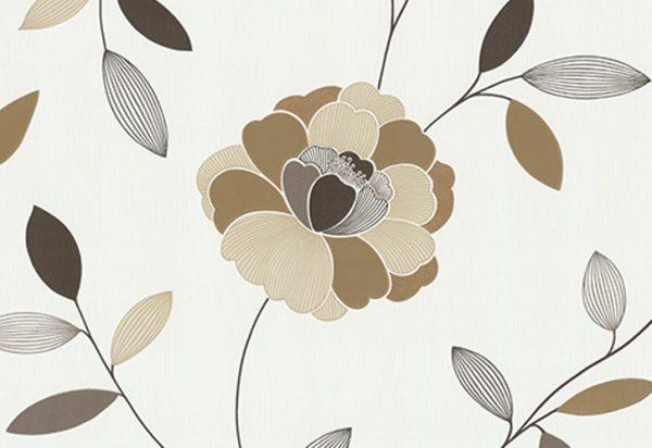 Papel de Parede Floral - 40009-20