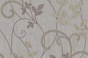 Papel de Parede Arabesco Floral - AMB16545
