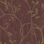 Papel de Parede Arabesco Floral - AMB16546